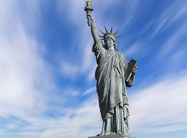自由女神像建造全过程 法国送大礼成美国象征