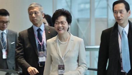 香港将迎来首位女特首