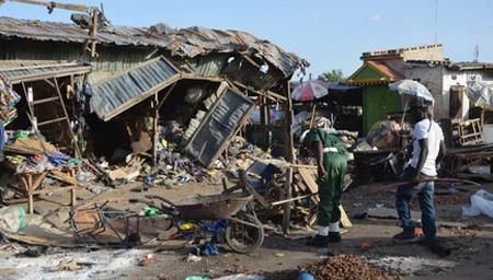 尼日利亚军机误袭难民营致50多人死亡
