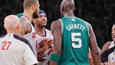 对巨星也不手软!NBA火爆冲突打架合辑