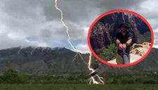 自拍杆成引雷针 男子登山自拍遭雷劈毙命