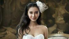 Baby拍写真秀玲珑身段 着婚纱预演当新娘