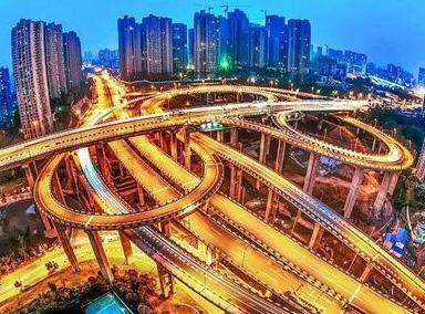 世界上最复杂的立交桥,5层20条匝道