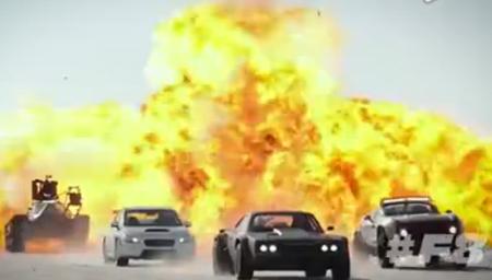 《速度与激情8》冰岛片场直击 太震撼了