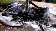 一架小型飞机在安徽淮北坠毁 两人死亡