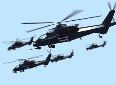 """实拍武装直升机一击""""摧毁""""装甲车"""
