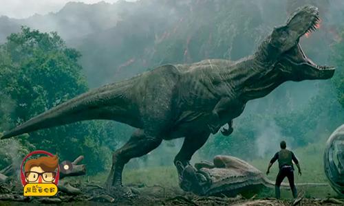 屌丝看电影:侏罗纪世界的恐龙又杀回来了#20180616