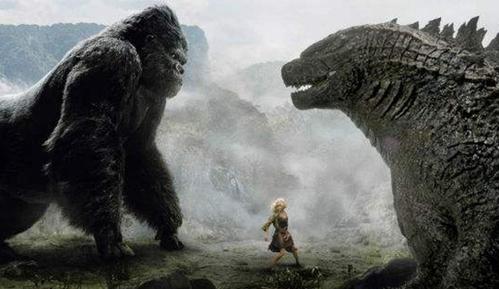 《金刚》骷髅岛大战《哥斯拉》:超劲爆怪兽电影预告!