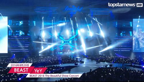 【topstarnews】 BEAST演唱会