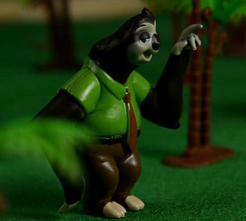 树懒的朋友,疯狂动物城,安迪尼克,阿紫玩具