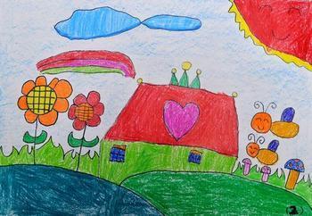 四年级美术书画花园的图案图片