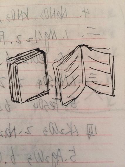 立体的书怎么画要图片了 急求啊