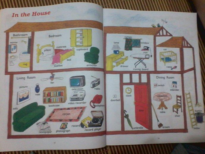 英语小报我的房子