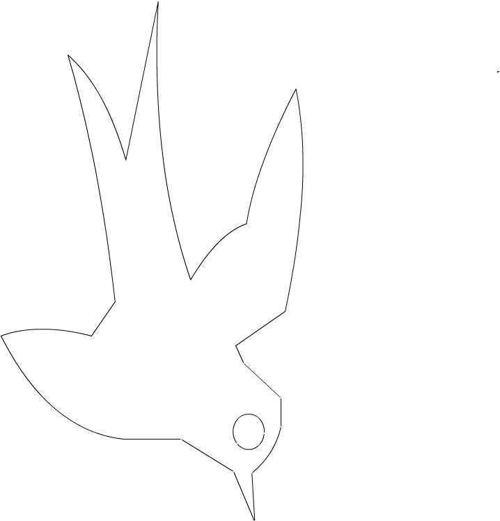 燕子简笔画怎么画图片