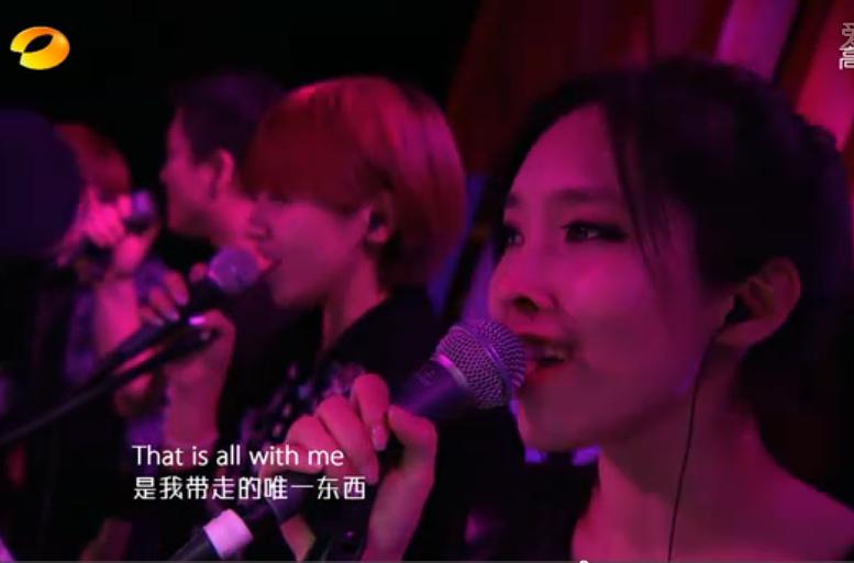 我是歌手伴唱美女 伴唱美女