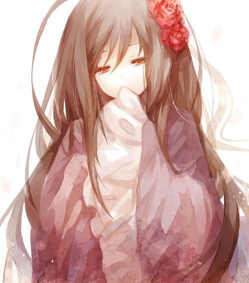 qq头像是一个卡通的女孩回忆中的哭泣