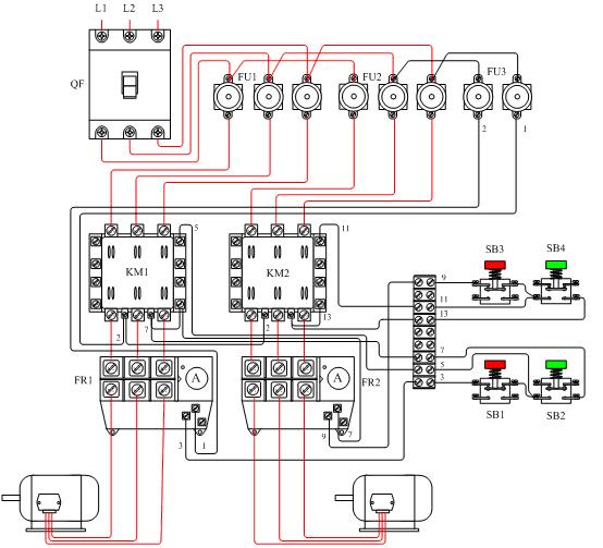三相异步电动机如何控制电动机正反转的图片