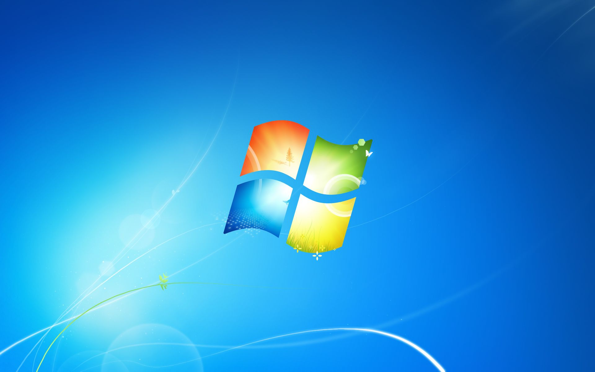 请问win7安装完成以后,系统默认的主题,主要是桌面图片在哪里可以