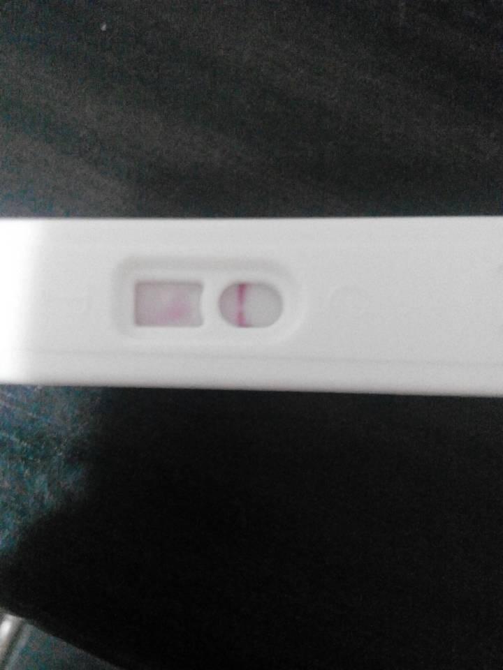 ... 那一_验孕棒未怀孕显示图,验孕棒显示怀孕图解图片