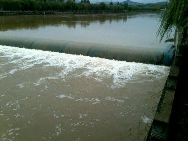 梦见大河涨水什么意思