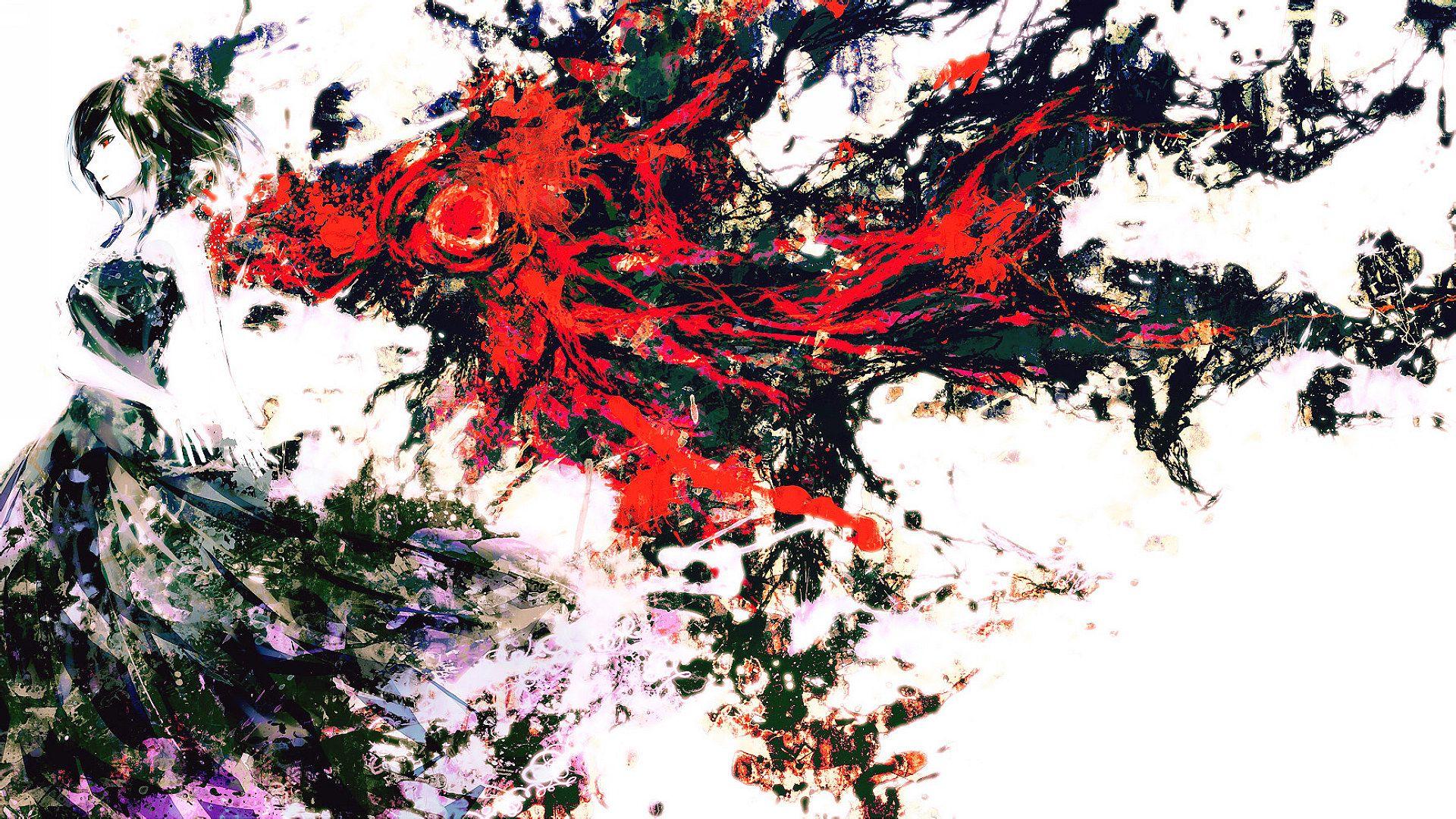 东京食种董香壁纸图集 东京喰尸鬼董香壁纸 东京喰种之董香壁纸图片