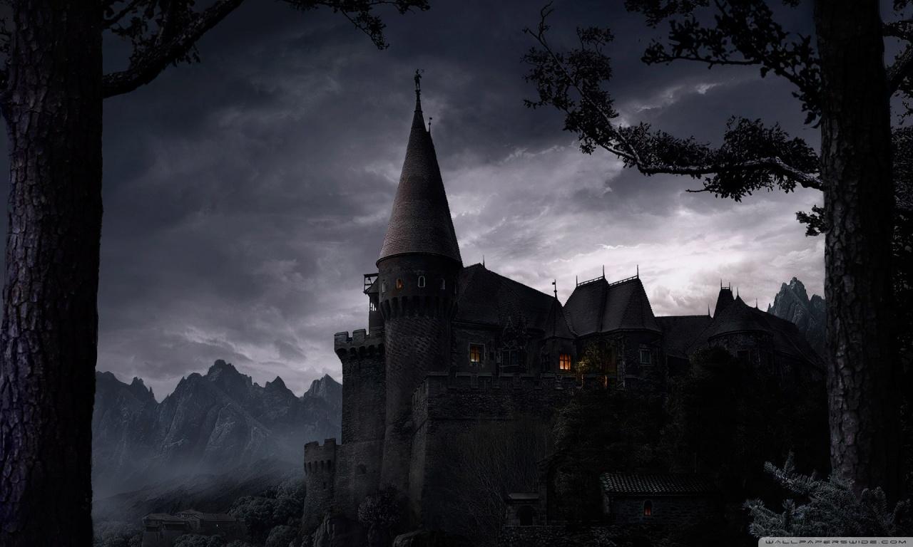 求古老城堡的桌面壁纸图片