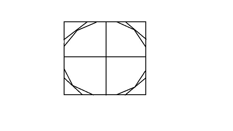 素描中,怎么画圆图片