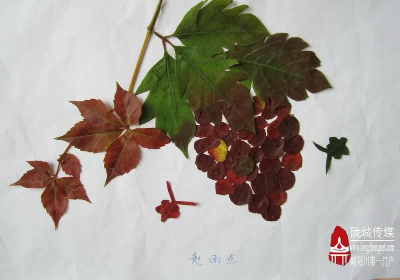 手工树叶怎么做图片