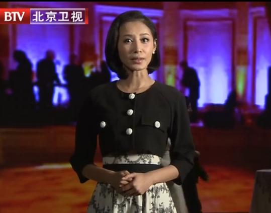 北京卫视《档案》 20131008期女主持人是谁?图片