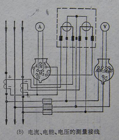 家用三相电表接线图图片大全 单相,三相电能表配互感器接线图片