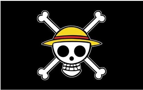 海贼王路飞的旗怎么画图片