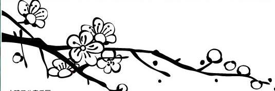桃花怎么画 儿童画图片