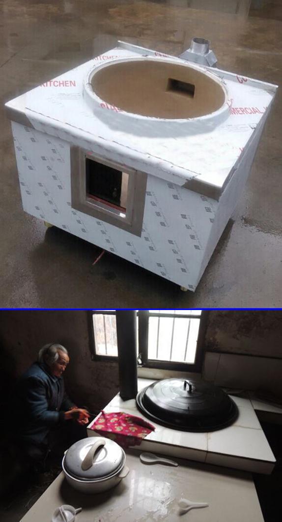 农村厨房能安装油烟机吗,农村的厨房都是用锅和烧柴火图片
