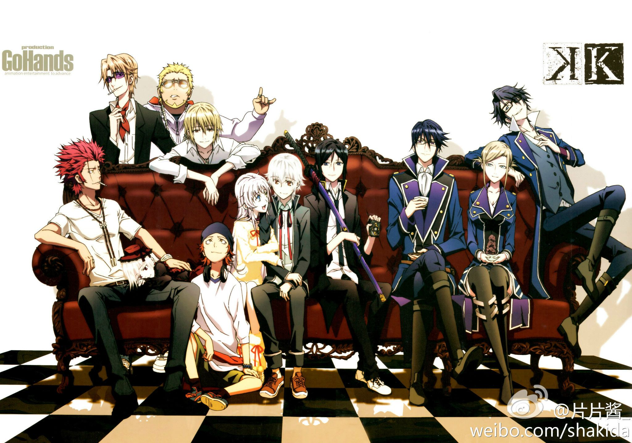 K Anime Characters Anna : 求动漫《k》高清图片 百度知道