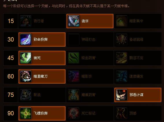 青云决舞伶天赋加点�_5.4版本战斗盗贼的天赋怎么点