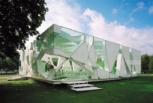 有没有伊东丰雄,蛇形画廊 的 3d模型啊?图片