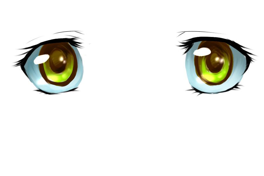 谁有动漫女孩的眼睛图片?越多越好!