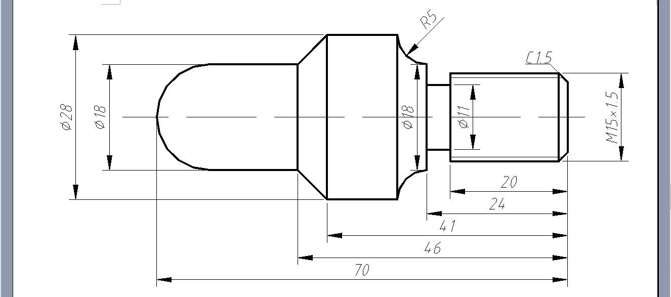 数控车床中怎样编程加工两头都要加工的零件?图片