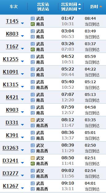 武汉到南昌旅游线路