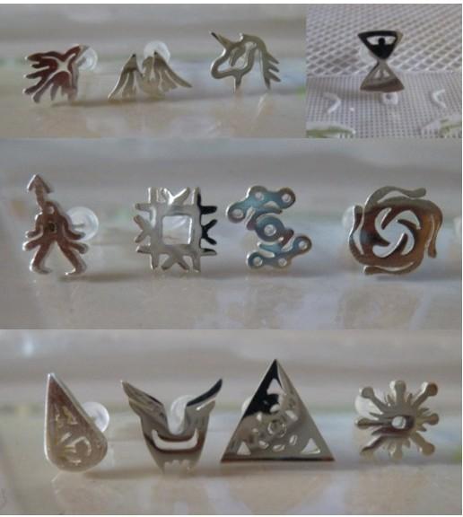 用纸折exo戒指的方法 exo标志怎么折 心形戒指的折法 心形