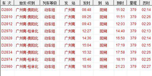广州怎么去阳朔