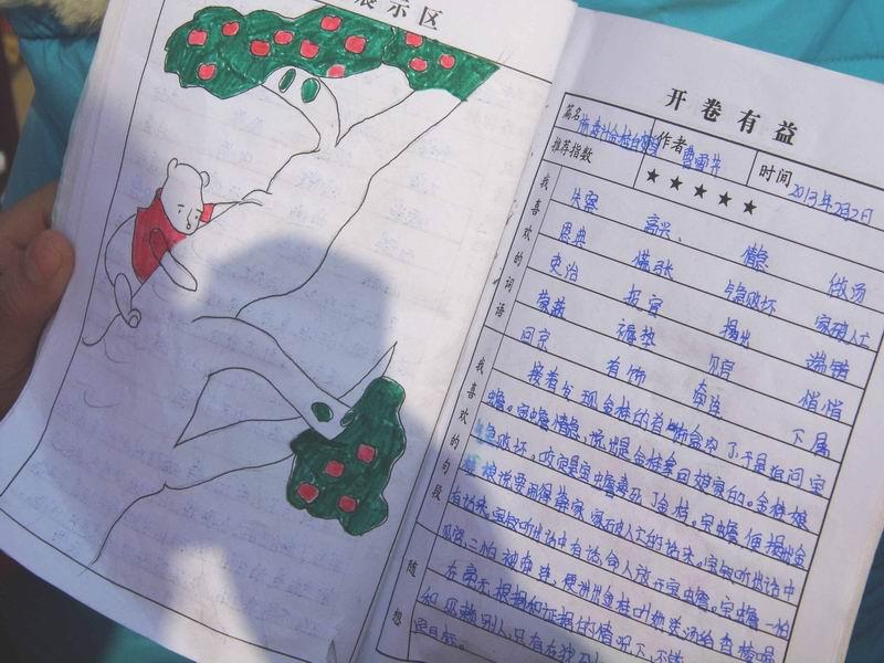 新课标小学生读书笔记大全的基本信息图片