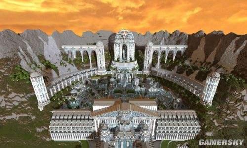 我的世界宫殿设计图|中国宫殿|地下宫殿图片