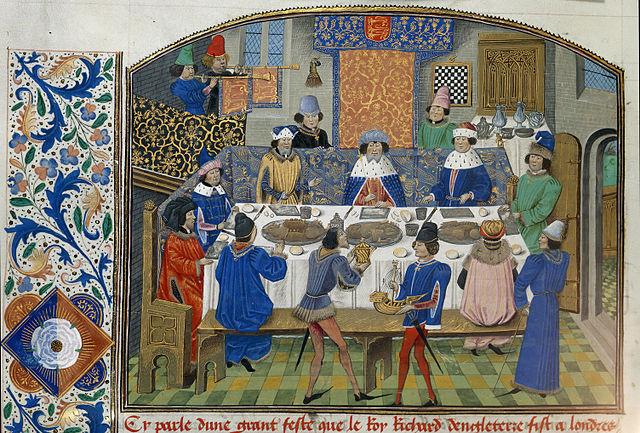 欧洲中世纪的饮食,平民饮食状况是怎样的?图片