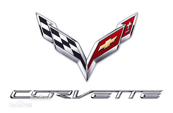 雪佛兰的克尔维特 在真实赛车3中有一辆车标是两个旗帜交叉高清图片