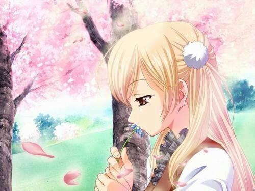 求一些日本唯美动漫女人物图