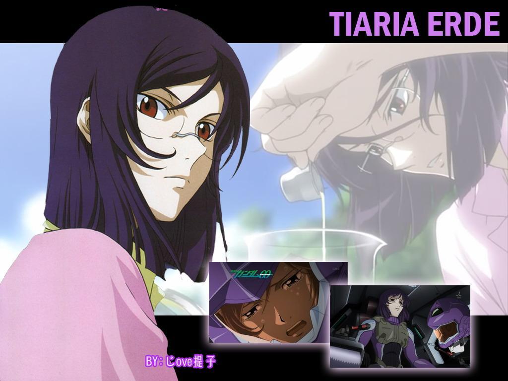 紫头发的动漫人物分享展示图片