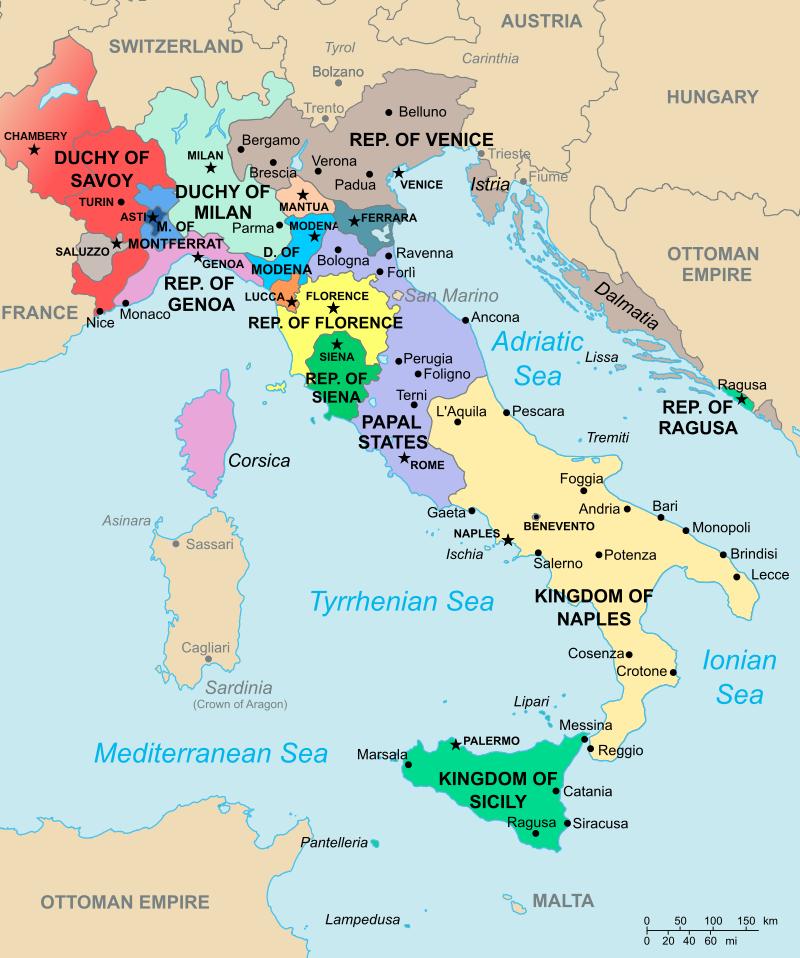 锡耶纳到罗马