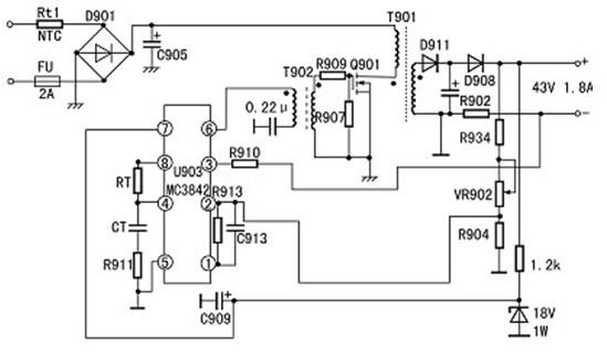 请问这个场效应管电路图是gs级相连的意思?图片