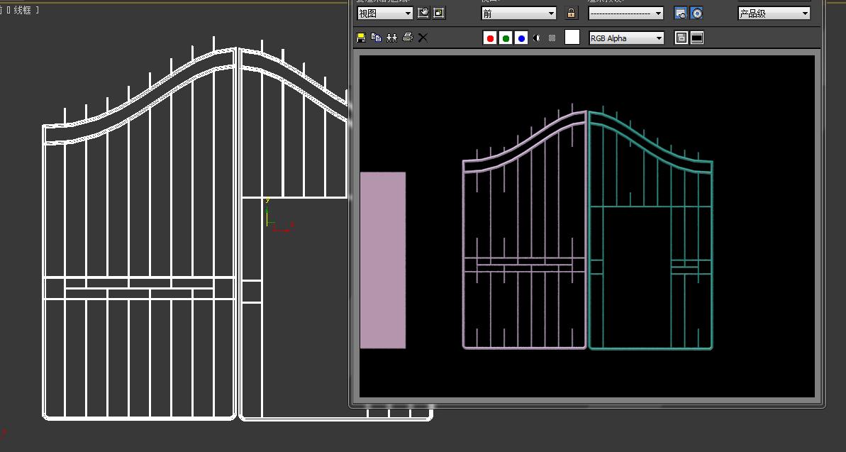 请问下为什么3dmax渲染模型的时候会出现这种情况?图片